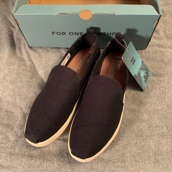 purchase cheap innovative design official store Size 9 Black TOMS Deconstructed Alpargatas